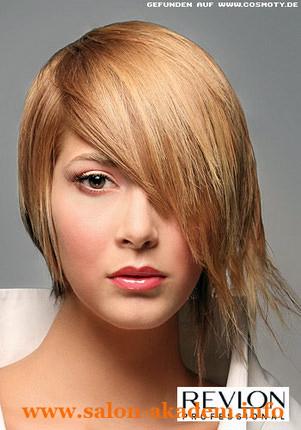 Стрижка Каре на удлинение с косой челкой фото