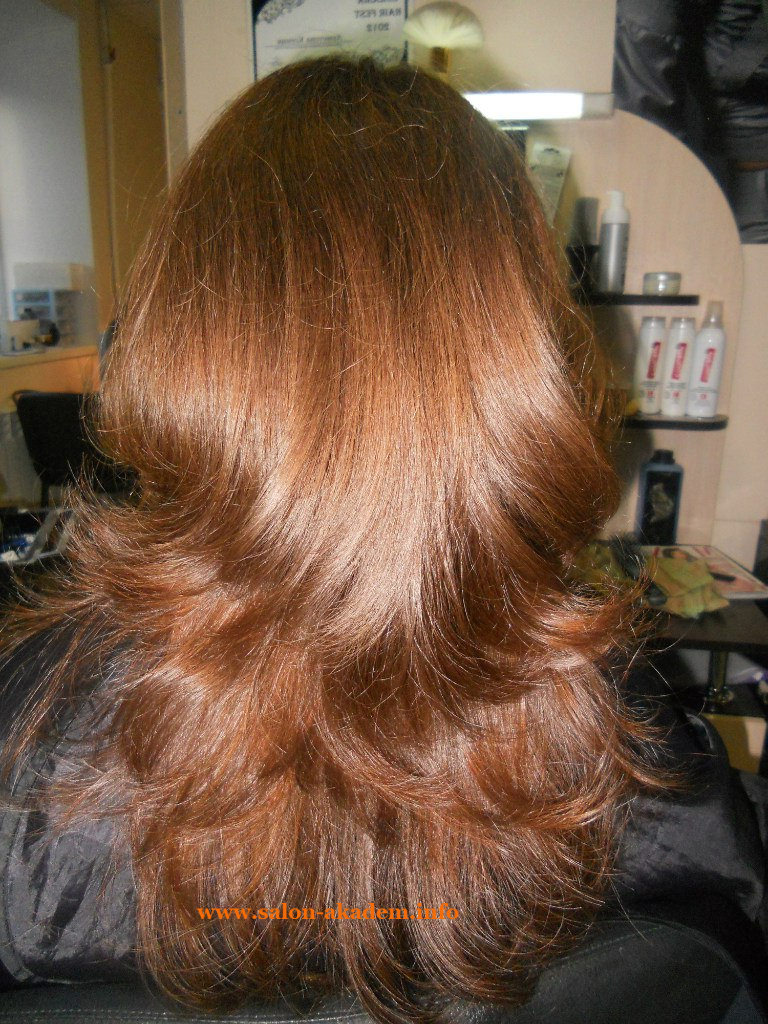 Прически на средние волосы фото вид сзади