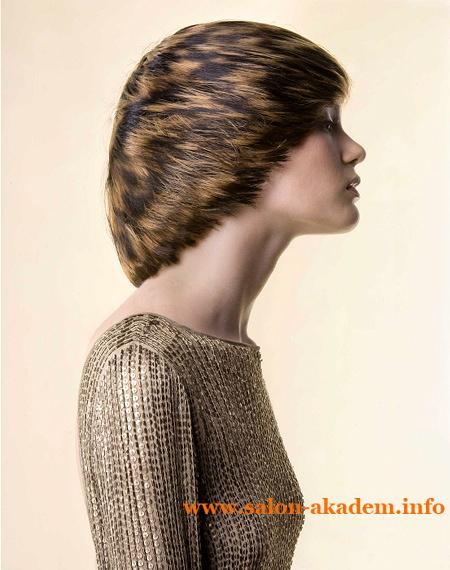 Креативная стрижка шапочка