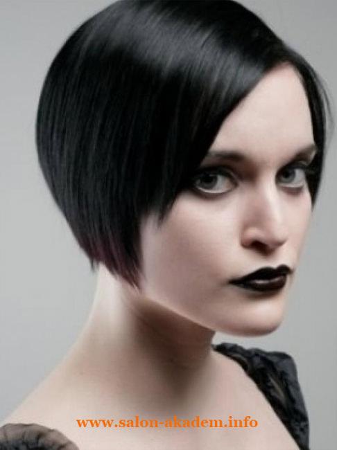 Стрижка боб на тонких волосах