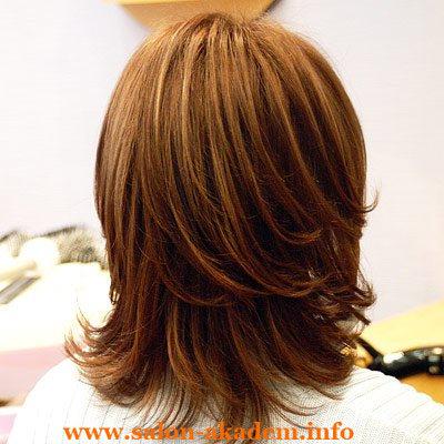 прически для волос каскад фото