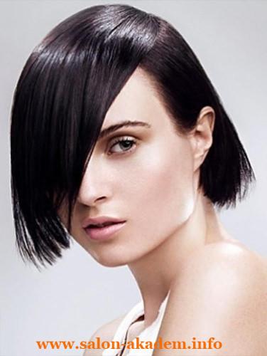 Прическа каре для тонких волос