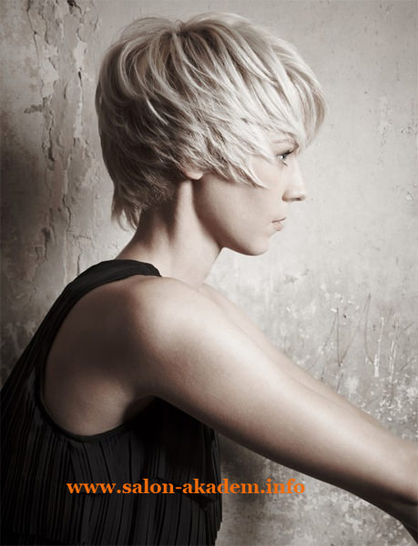 Каскад стрижка на короткие волосы