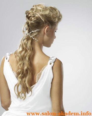 Прически в греческом стиле