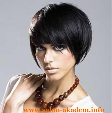 Короткие стрижки боб для тонких волос