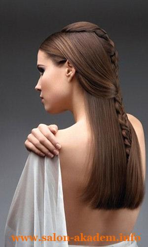 Прически в греческом стиле на тонкие волосы