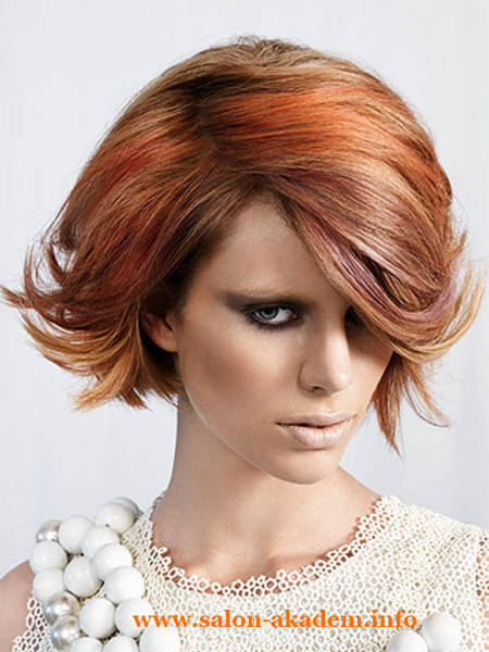 Женские стрижки боб на средние волосы фото