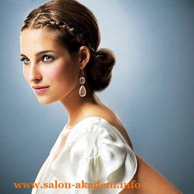 Прически в греческом стиле для волос средней длины