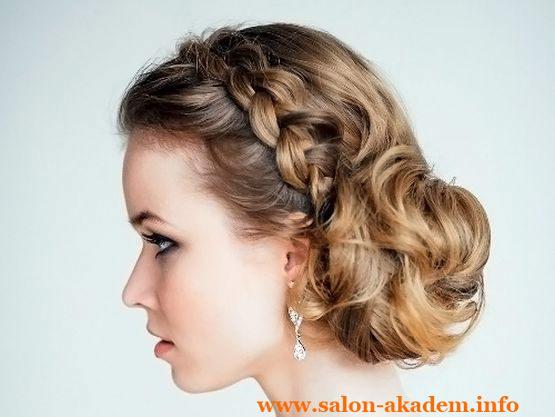Красивые греческие прически на длинные волосы