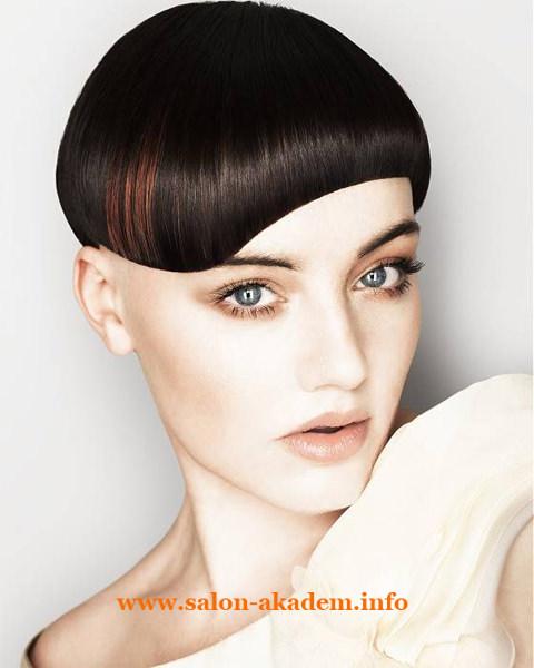 Стрижка для длимых волос