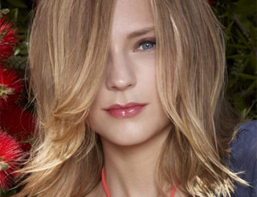 Прическа каскад на длинные волосы