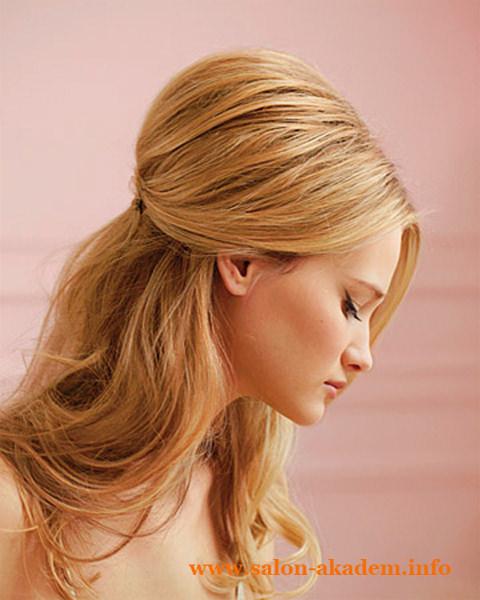 Прическа мальвина для длинных волос