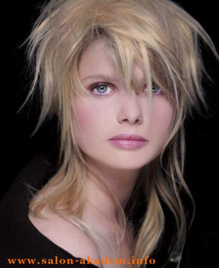 Стрижка гаврош фото на длинные волосы