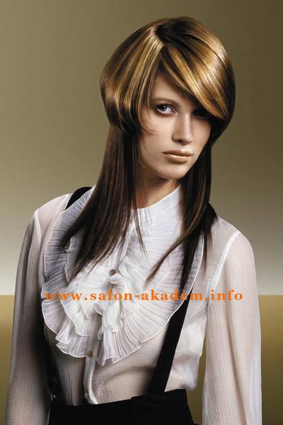 Стрижка шапочка и длинные волосы