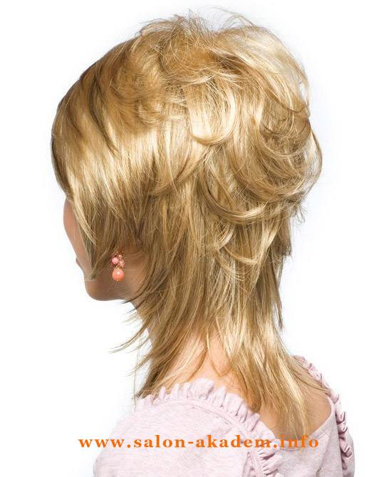 Прическа гаврош женская фото на длинные волосы