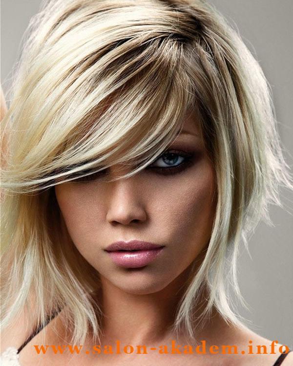 Стрижка итальянка женская на короткие волосы