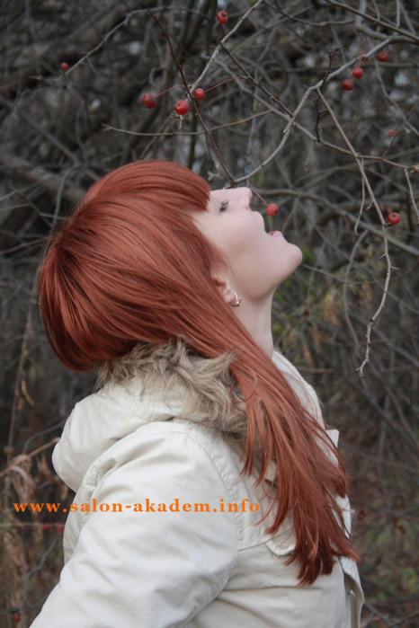Стрижка шапочка на длинные волосы фото