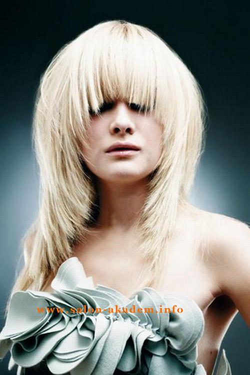 Женская стрижка шапочка на длинные волосы