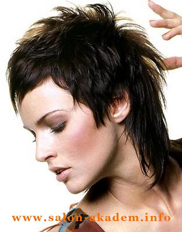 Стрижка гаврош на средние волосы фото