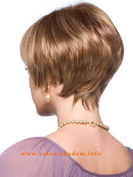Стрижки для тонких волос на короткие волосы